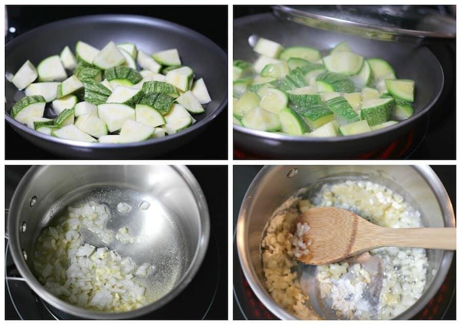 Crema Rápida de Calabacitas. sigue este sencillo tutorial