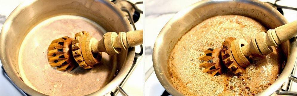 Chocolate caliente mexicano, receta paso a paso
