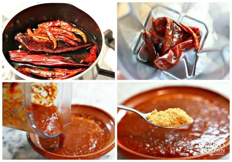 Sigue esta sencilla receta para preparar esta Salsa roja para tacos