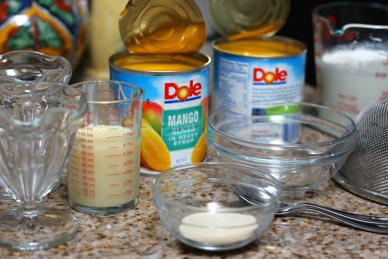 mousse de mango receta paso a paso