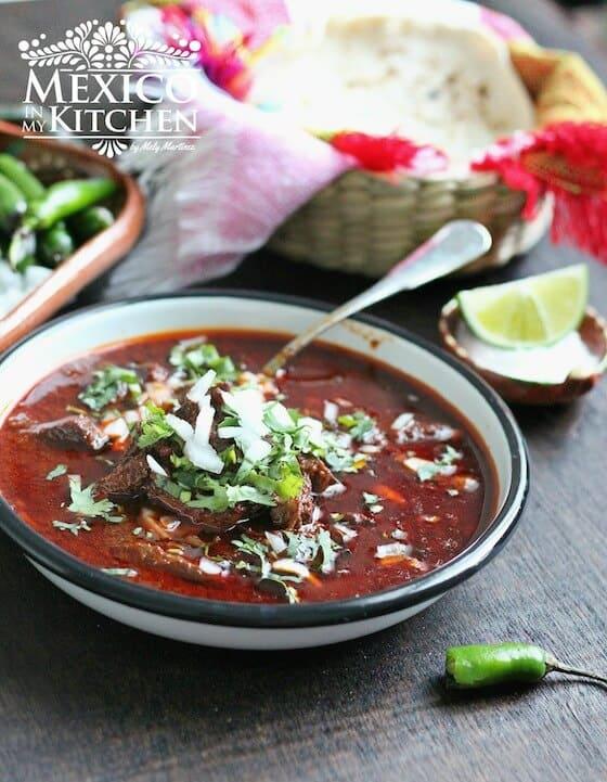 Birria de res | receta mexicana