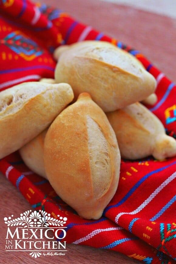 Pan francés o bolillos