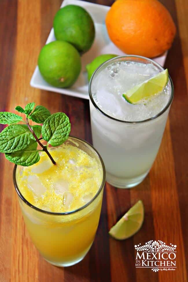 Naranjada Limonada Preparada
