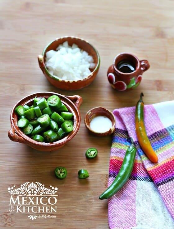 Salsa de Chile Serrano Frita, tutorial paso a paso