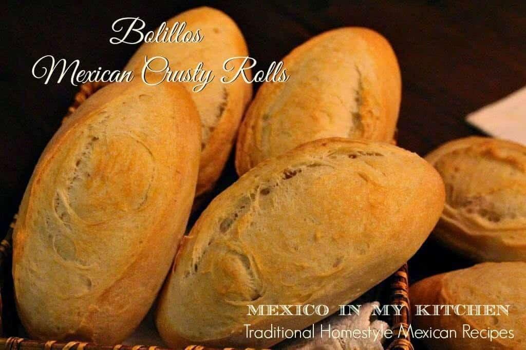 Pan francés o bolillos, receta muy sencilla de preparar