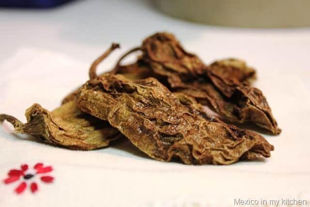 Picadas al Estilo Veracruz, chile chipotle