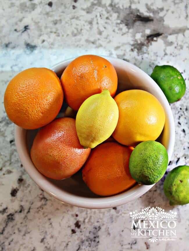 Naranjada Limonada Preparada, ingredientes