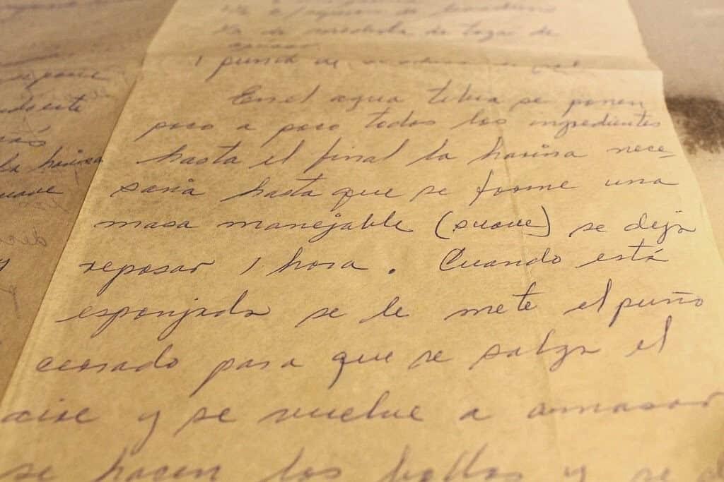 Pan francés o bolillos, notas que e envió mi amiga