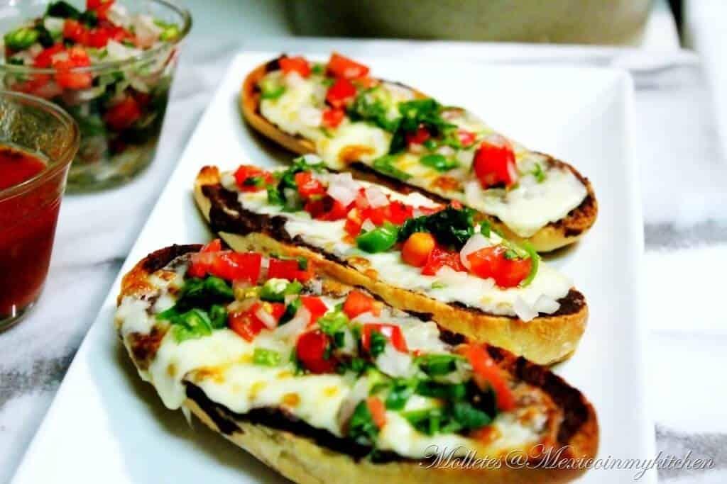 Molletes deliciosos │listos para disfrutar