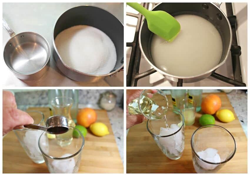 Naranjada Limonada Preparada, paso a paso