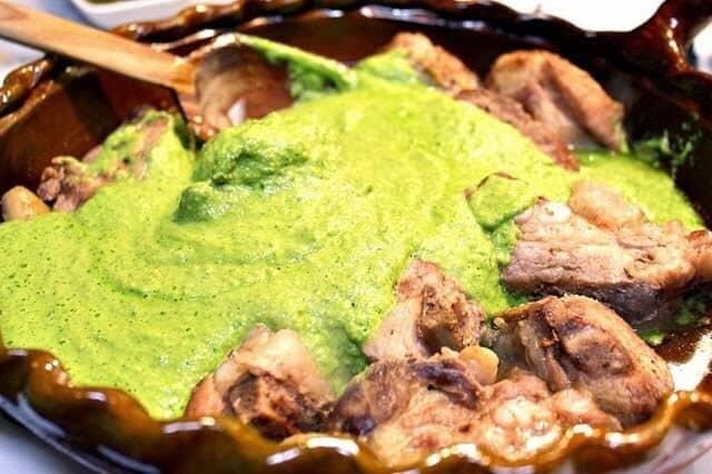 Disfruta de esta deliciosa salsa de Mole Verde