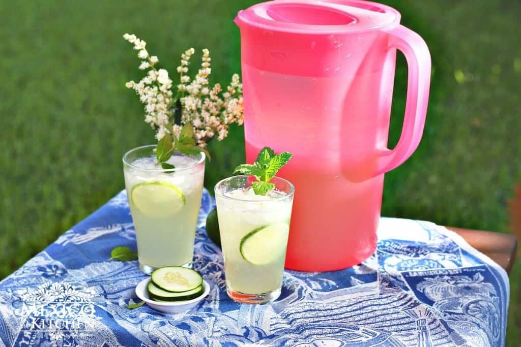 Agua Fresca de Pepino con Limón, disfrútala