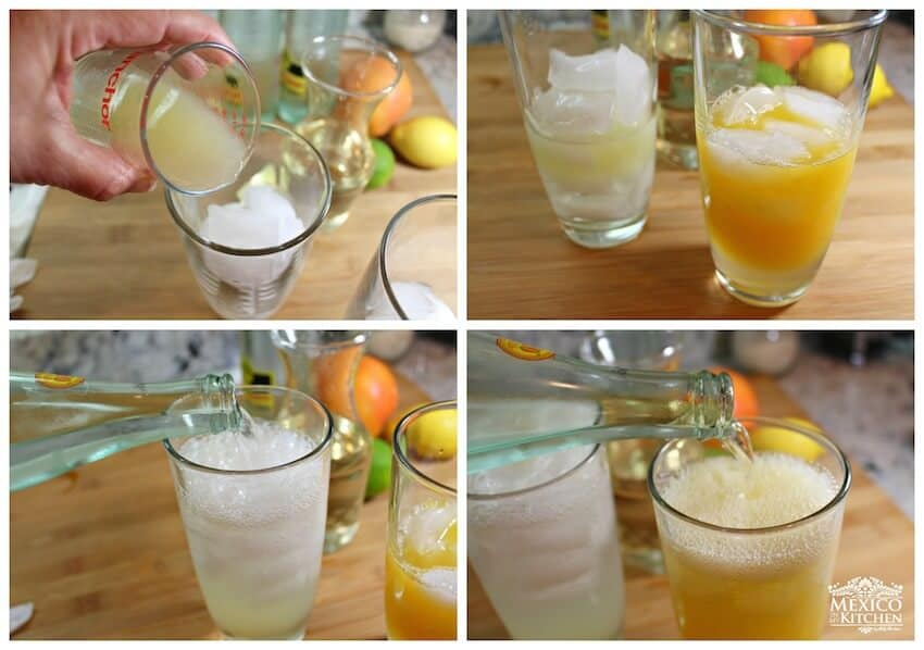 Naranjada Limonada Preparada, es momento de disfrutar
