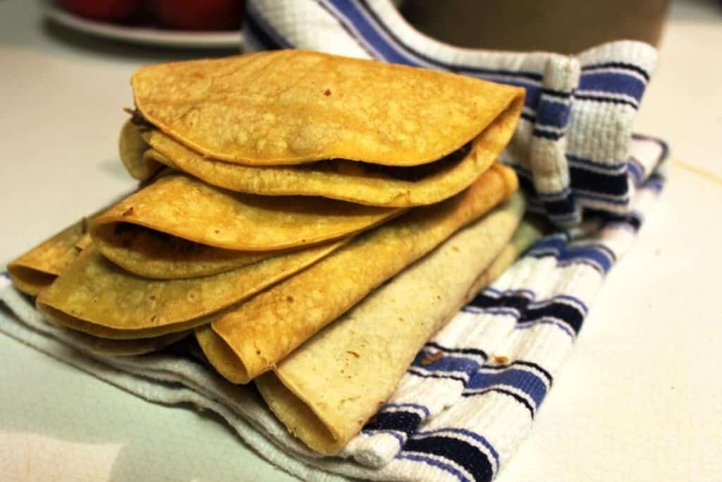 Cachetadas tacos de Tampico